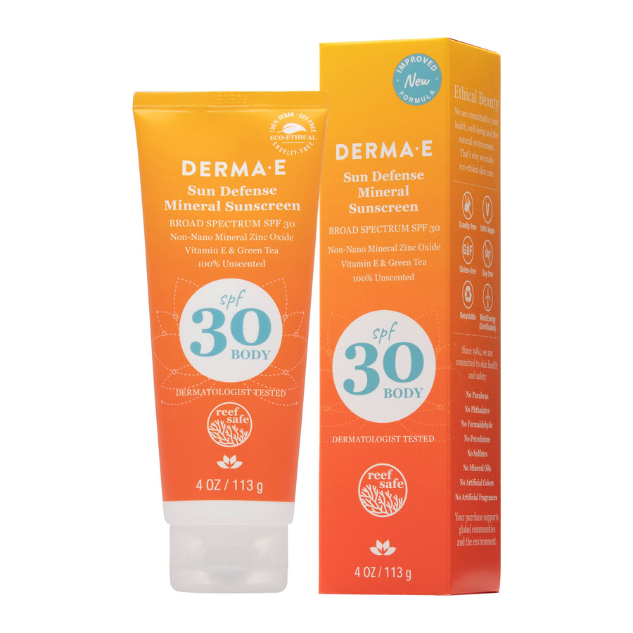 Sun Defense Mineral Oil-Free Sunscreen SPF 30 Body
