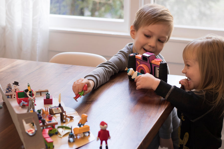 How your kids can make a fun video with toys!