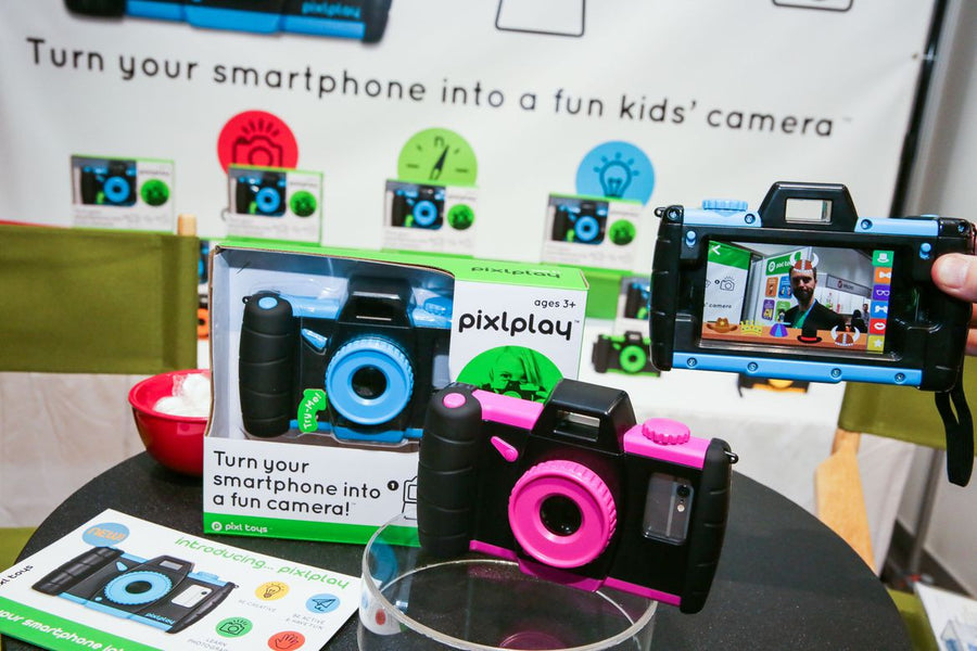 What makes Pixlplay better than other kids' cameras?