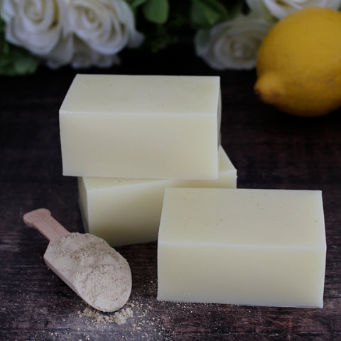 Curiosity Soap - Lemon & Clay 130g