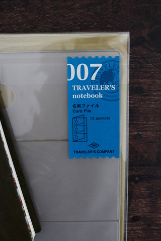 Traveler's Notebook Refill 007 - Card File