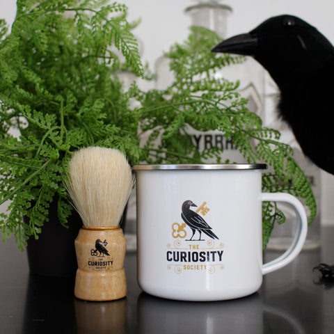 Curiosity Society Ceramic Shaving Mug