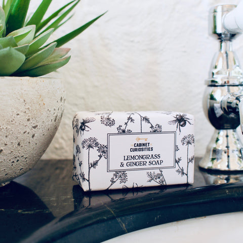 *NEW* Curiosity Wrapped Soap - Lemongrass & Ginger 130g