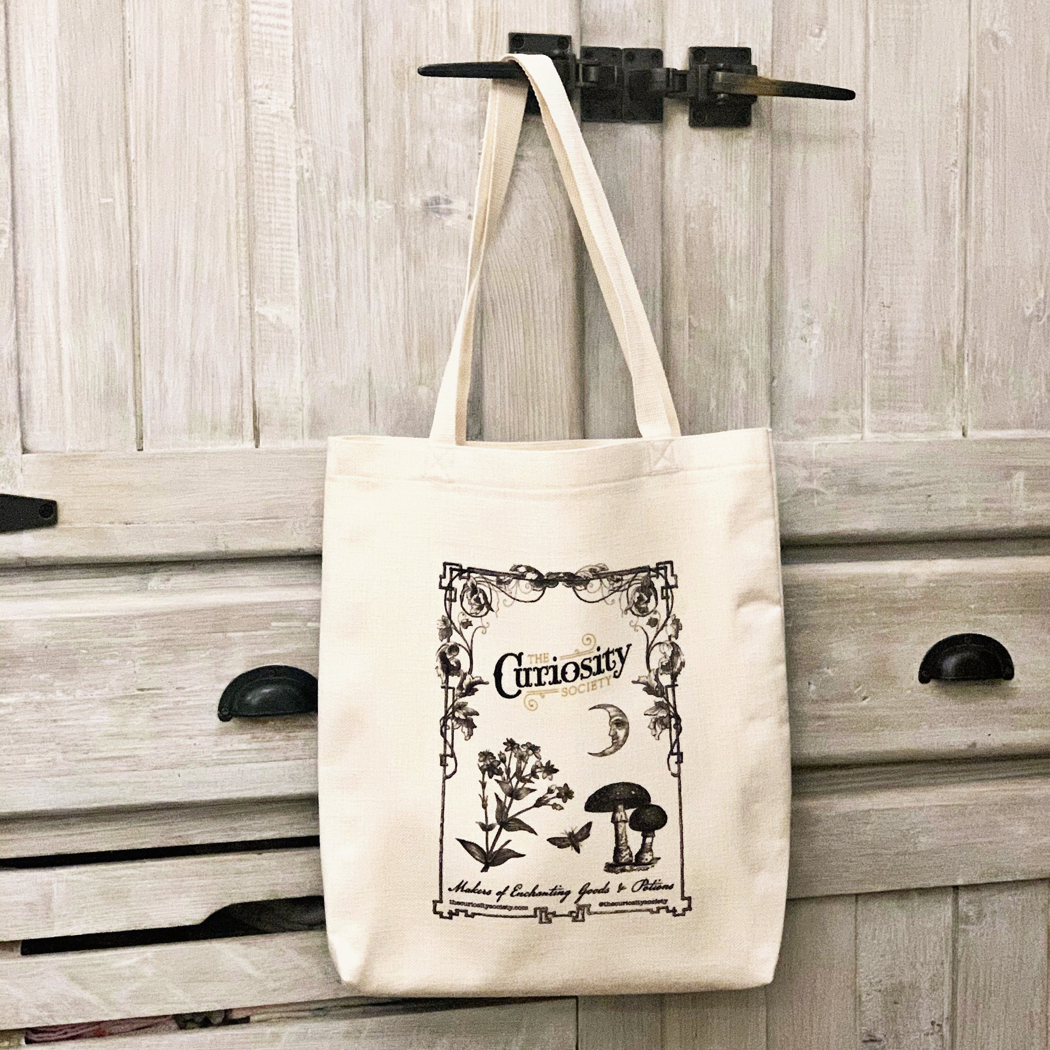 Enchanted Goods Canvas Tote Bag