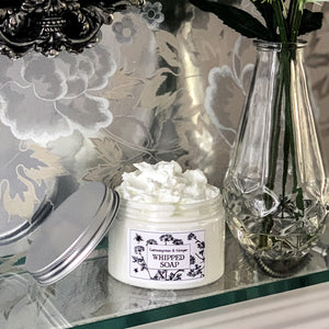 Lemongrass & Ginger Whipped Soap