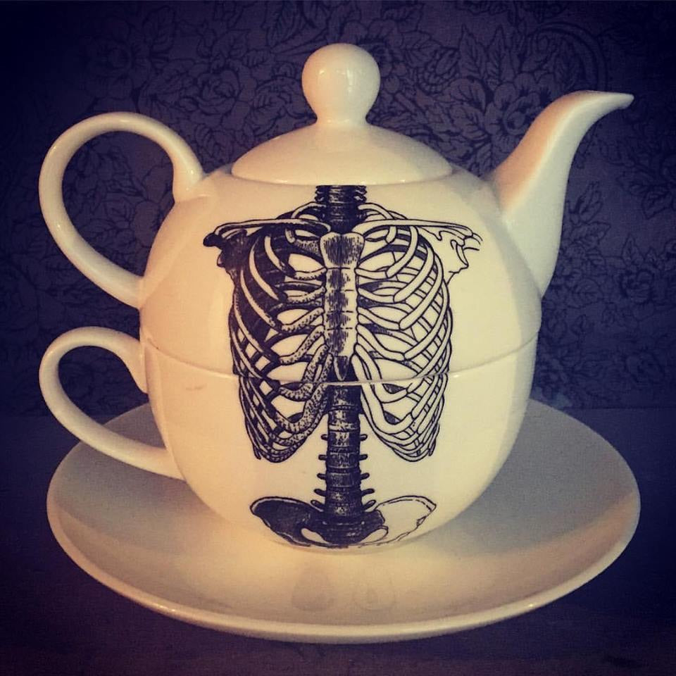 Tea for One - Skeleton