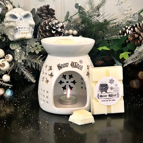 Seasonal Oil Burner - Snow Witch