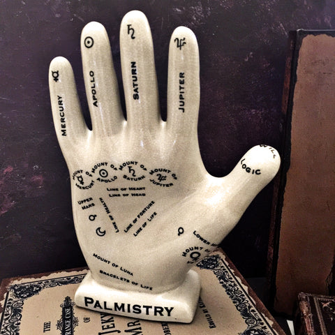 Palmistry Hand - Large 12""
