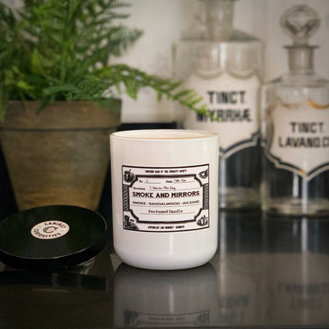 Curiosity Artisan Candle - Smoke & Mirrors
