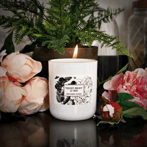 Velvet Peony & Oud Candle