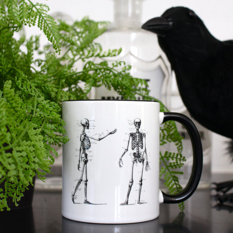 Curiosity Society Mug - Skeletons