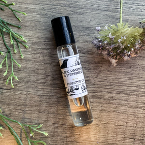 Black Raspberry & Peppercorn Perfume Oil