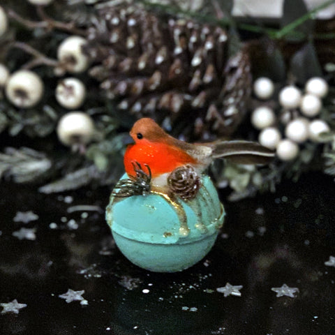 Robin on Spiced Apple Bath Bomb