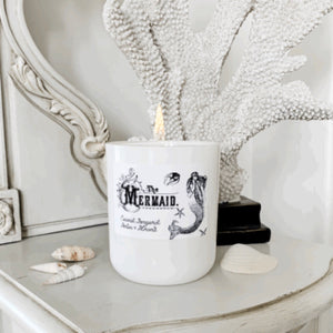 The Mermaid Candle