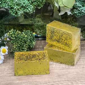Curiosity Soap - Lemon Poppyseed 130g