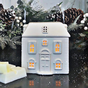 Ceramic House Oil Burner
