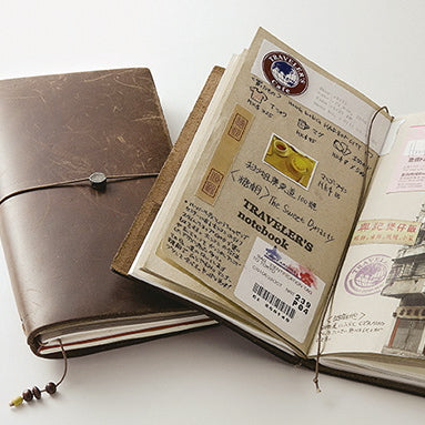 Midori Traveler's Notebook - Brown