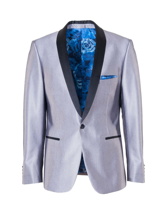 Regent Shawl Dinner Jacket - Silver