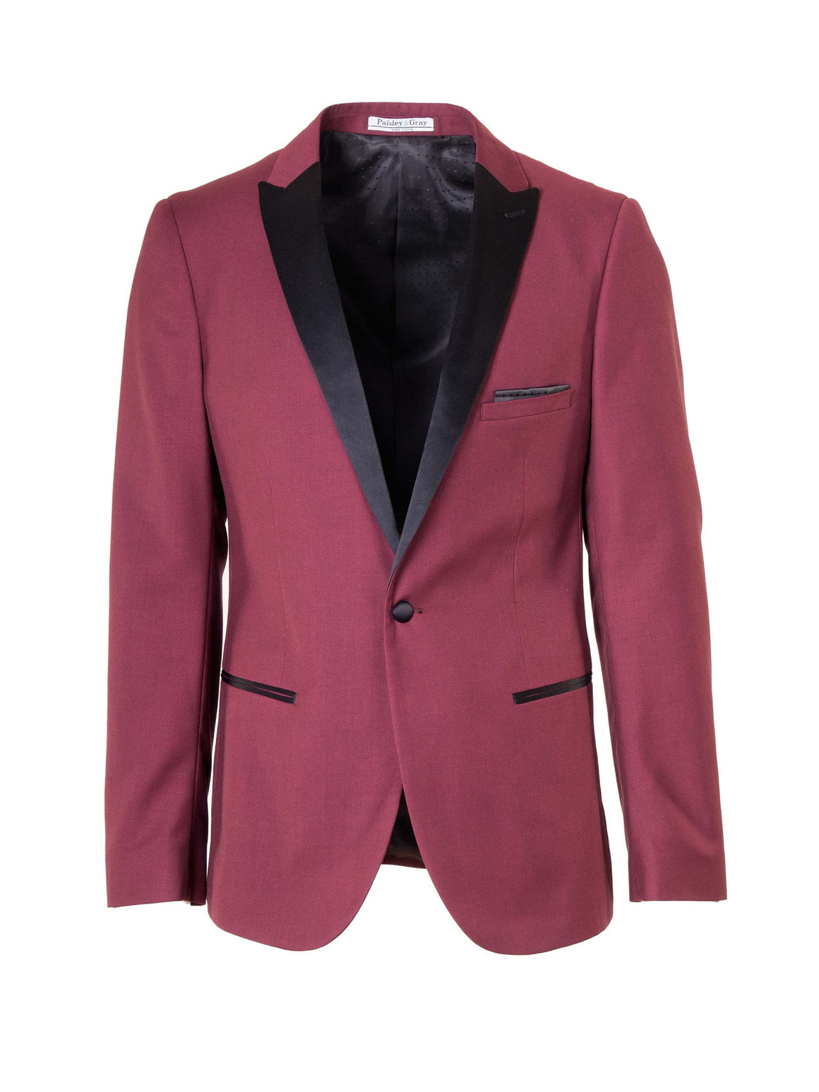 Grosvenor Peak Dinner Jacket - Maroon