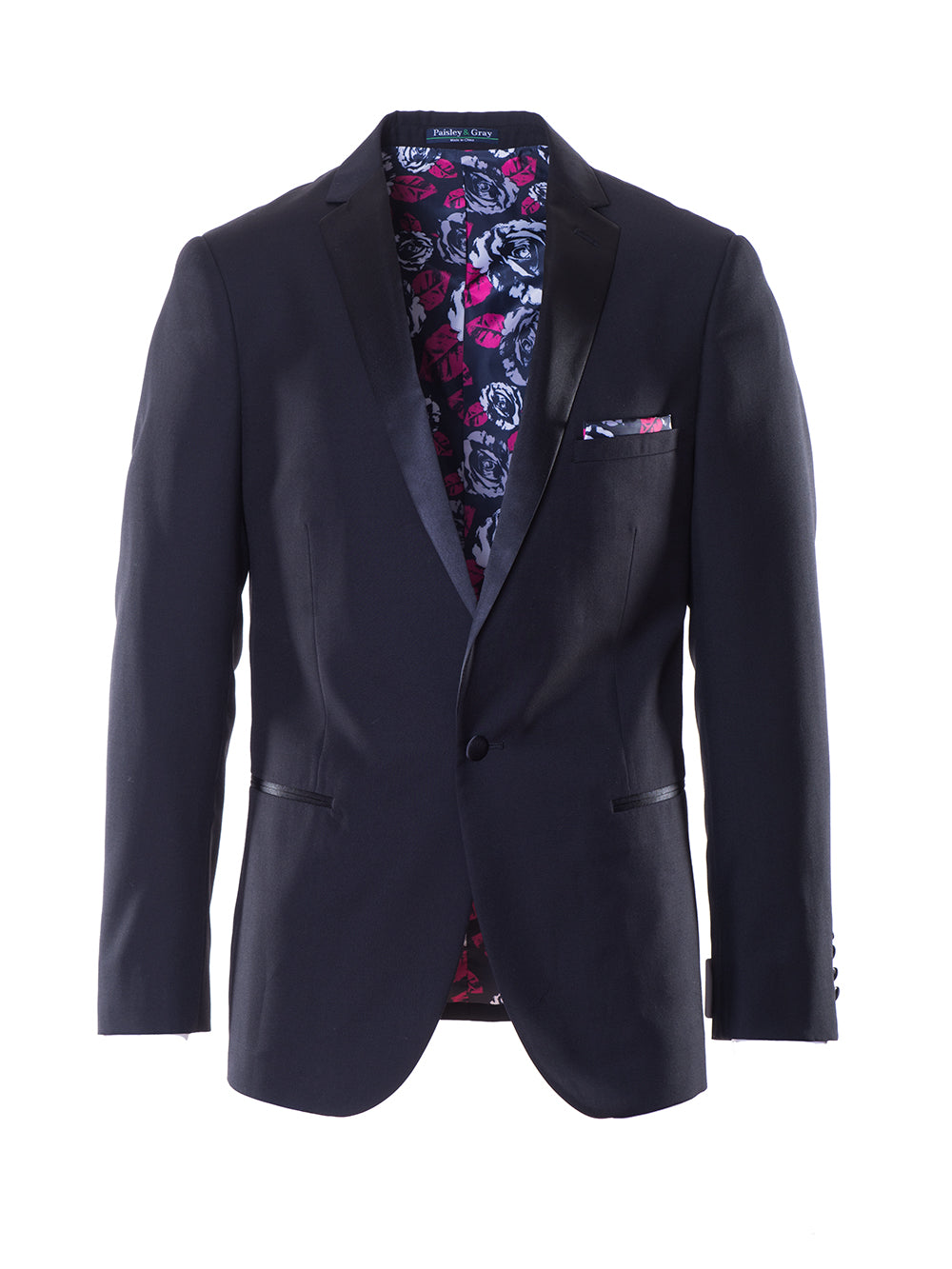 Osborne Notch Dinner Jacket - Black
