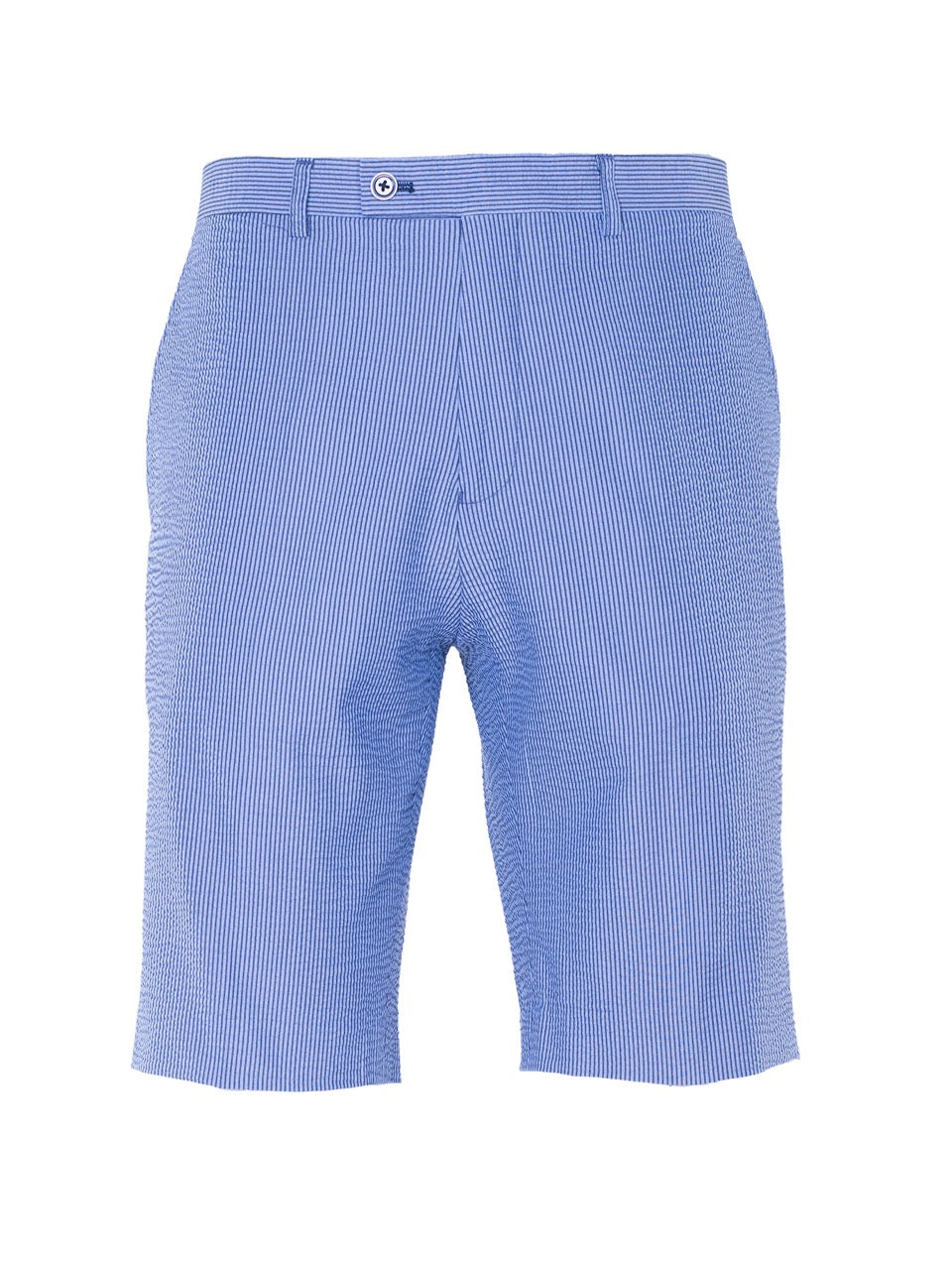 Fairview Shorts - Blue & Grey Seersucker