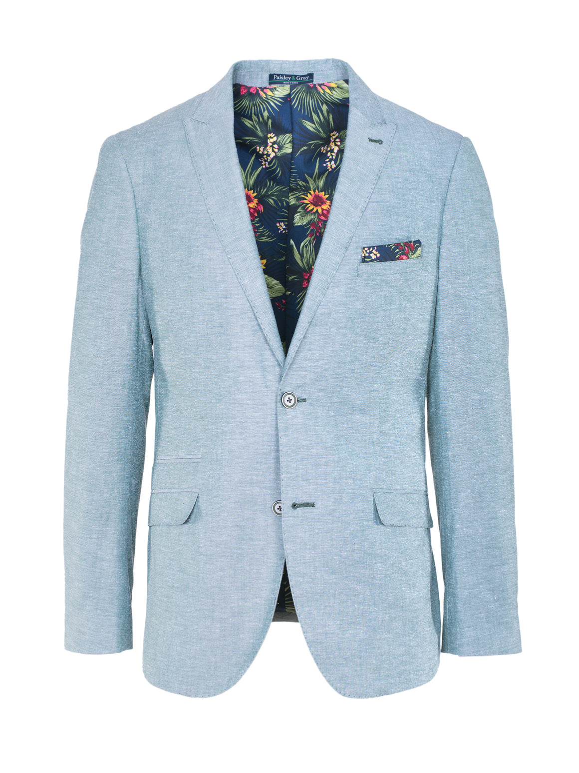 Ashton Peak Blazer - Washed Green