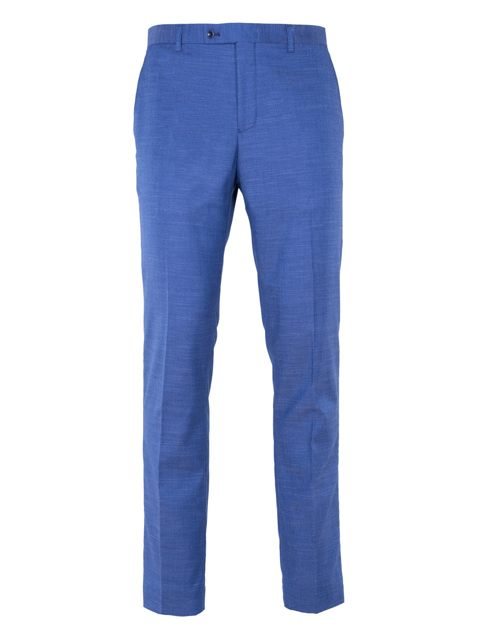 Sloane Tuxedo Pants with Reverse Leg Stripe - 2 Tone Chambray