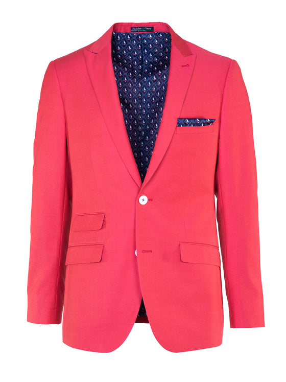 Ashton Peak Blazer - Red