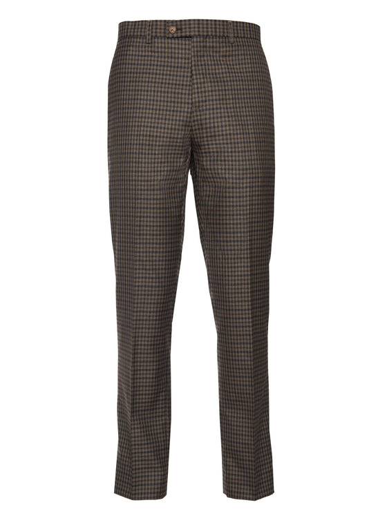 Downing Pant - Olive Fall Gingham