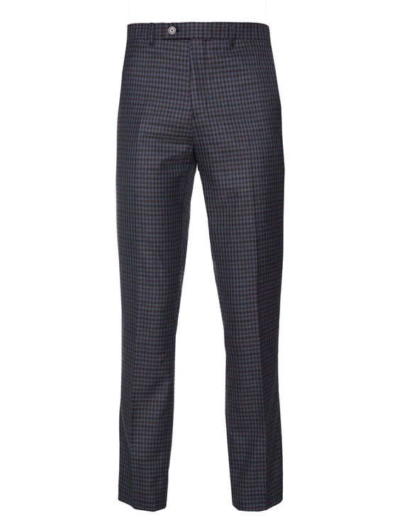 Downing Pant - Navy Fall Gingham