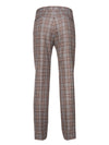 Downing Pant - Marsala Cream Plaid