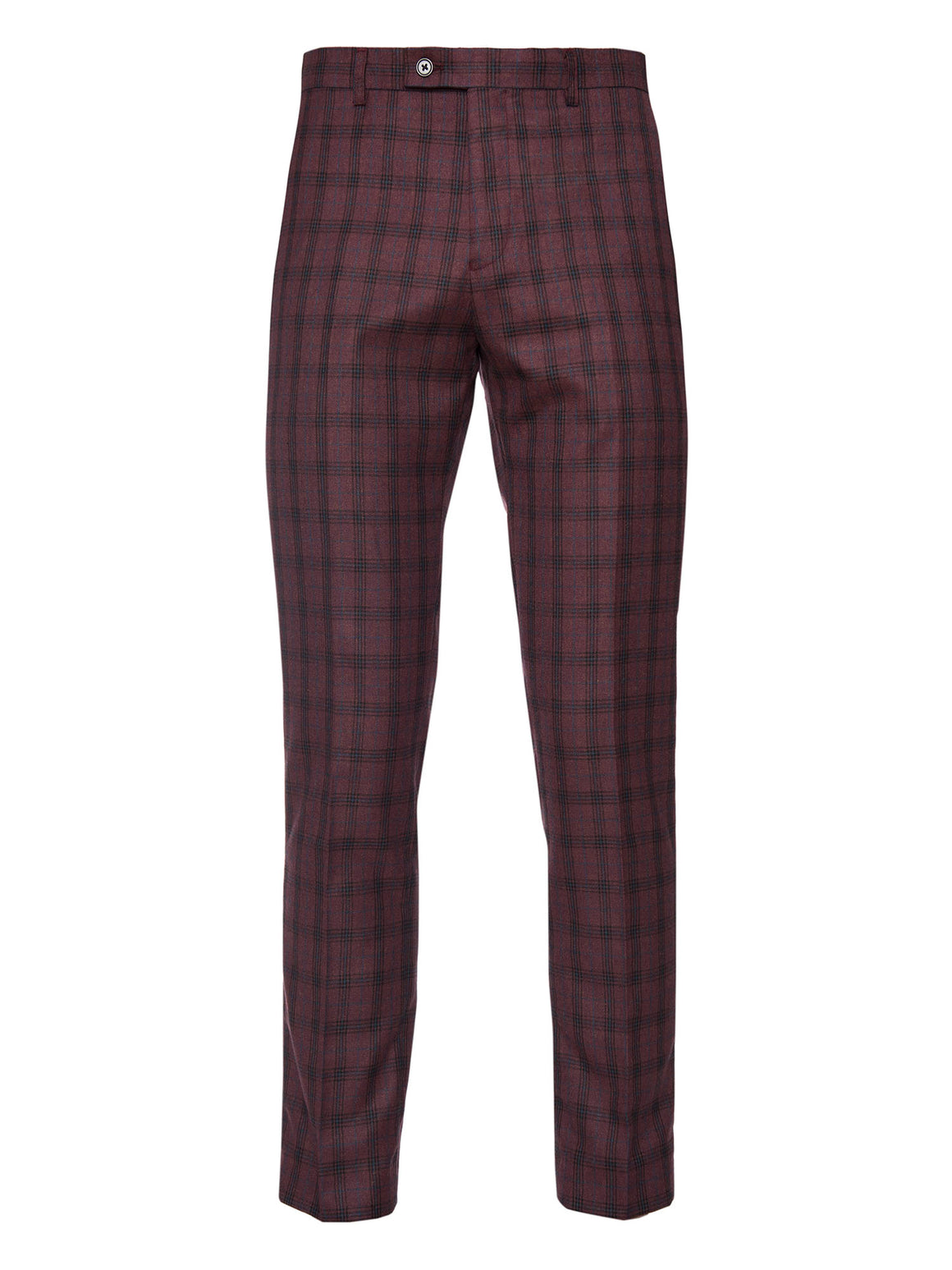 Downing Pant - Dark Berry Plaid