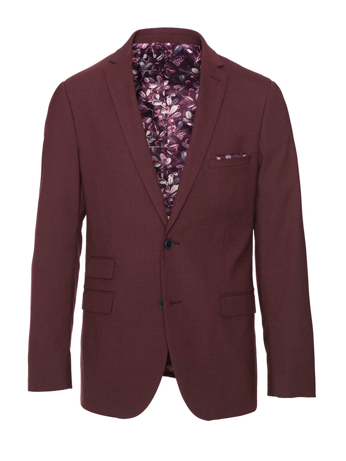 Dover Notch Jacket - Dark Berry
