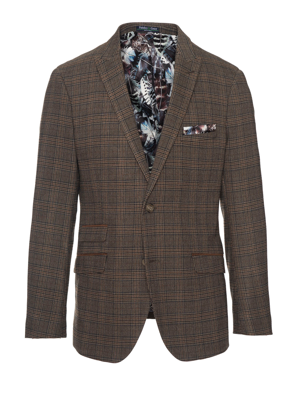 Ashton Peak Jacket - British Plaid