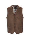 Barnsley Vest - CoCo Brown Ultrasuede