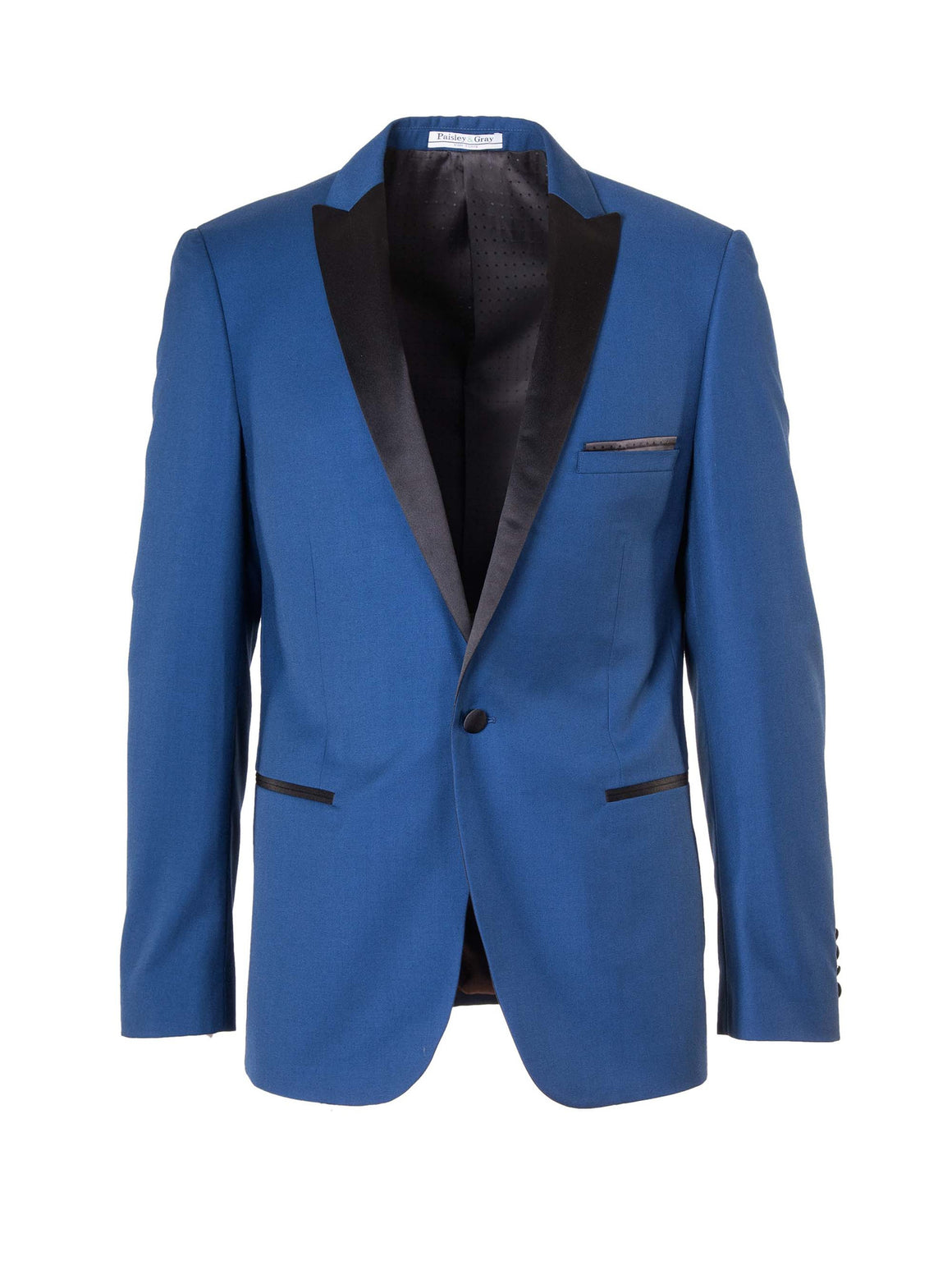 Grosvenor Peak Dinner Jacket - Blue