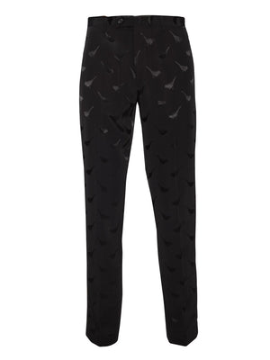 Sloane Tuxedo Pants - Slim - Black Bird