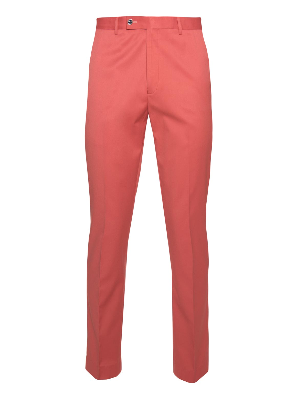 paisley & gray pink solid slim fit suit pant 2117P