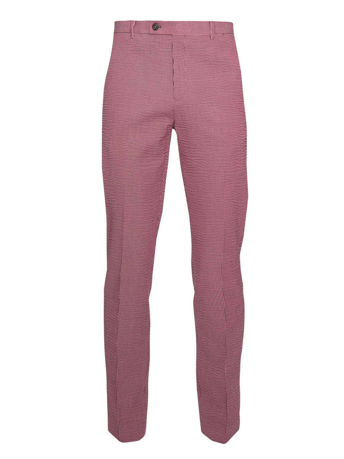 paisley & gray pink seersucker slim fit suit pant 2121P