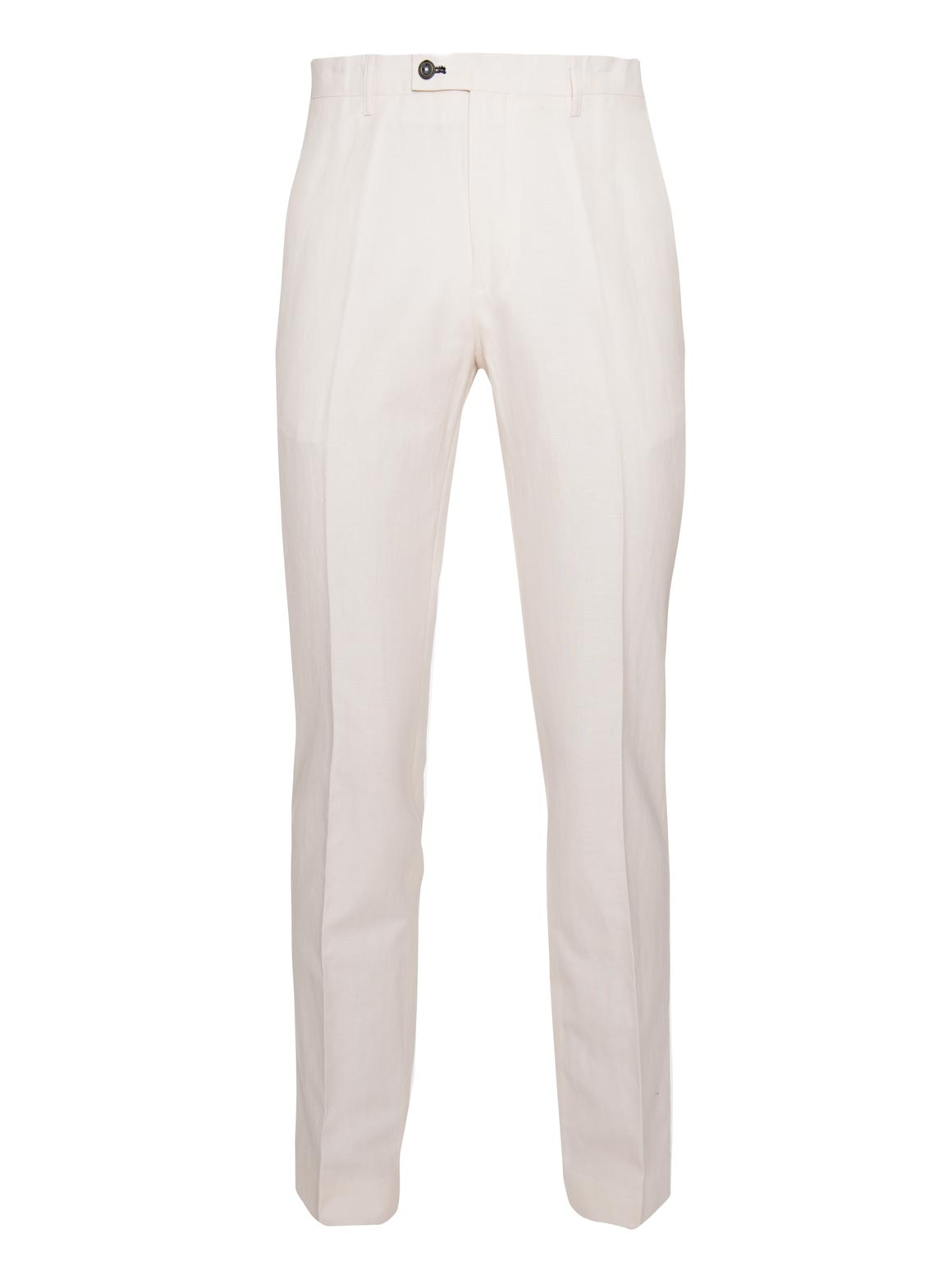 paisley & gray off-white slim fit suit pant 2126P