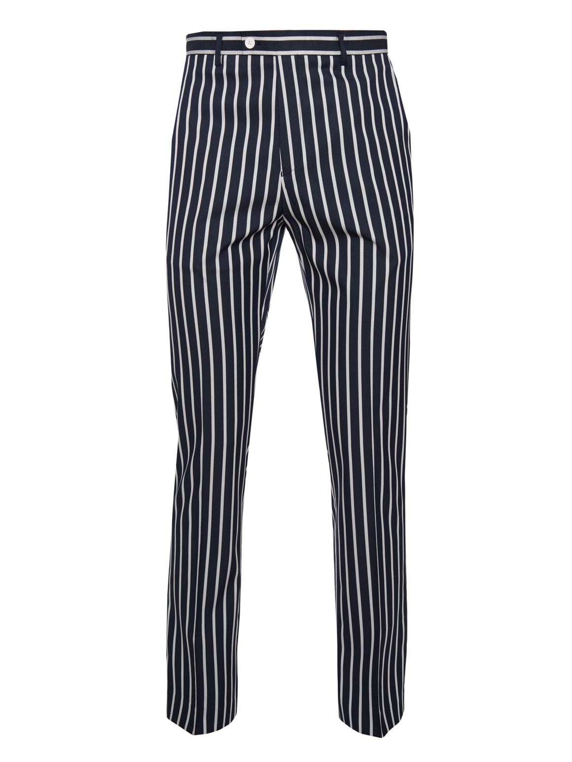 paisley & gray bold navy stripe slim fit suit pant 2157P