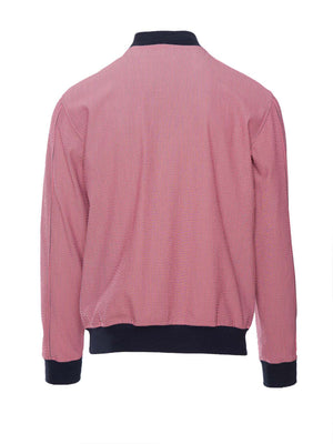 Hyde Bomber Jacket - Slim - Pink Seersucker