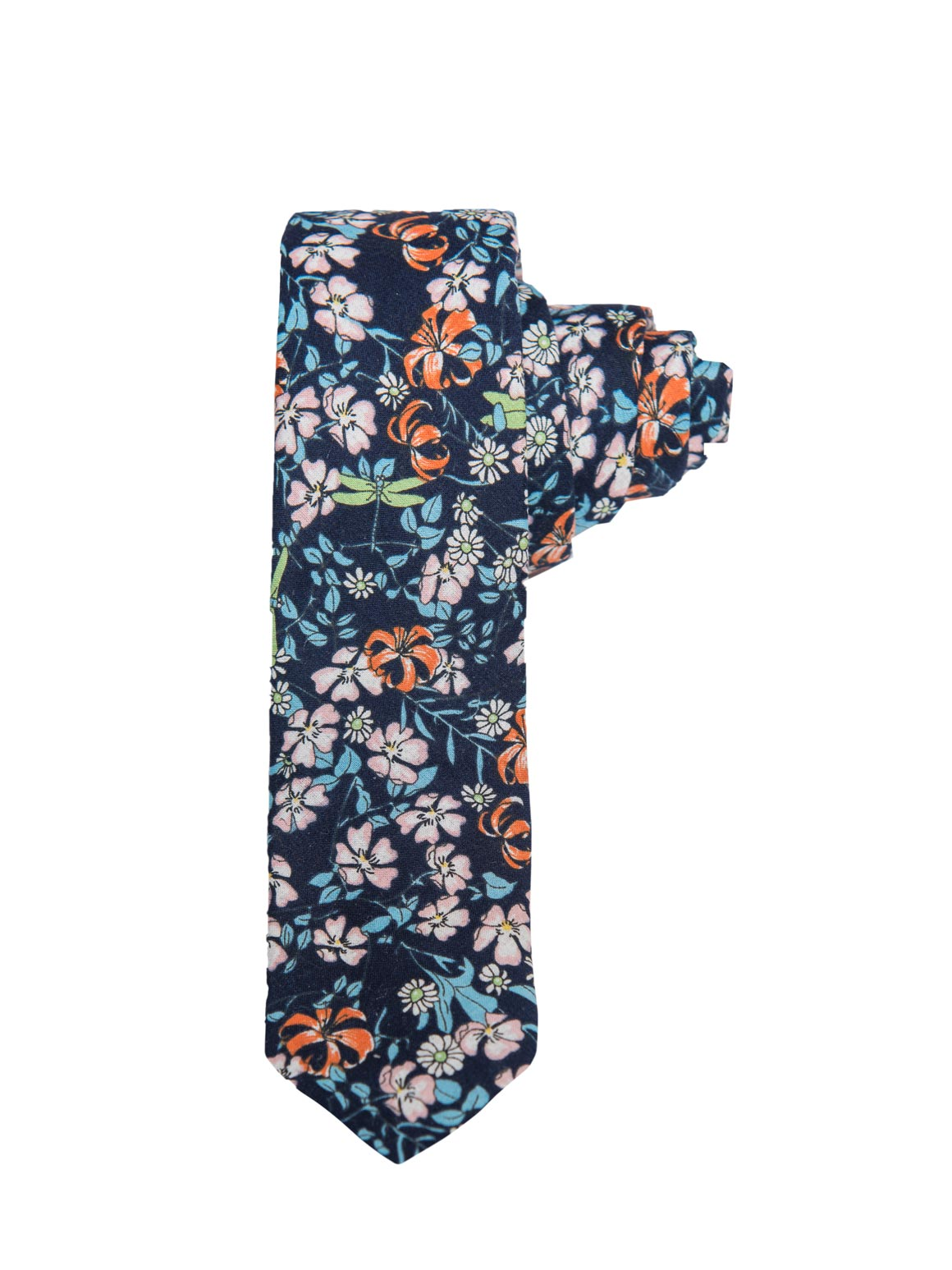 paisley & gray floral dragonfly slim tie is a menswear staple for easy styling 2261t