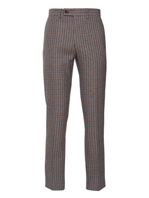 Downing Pant - Black & Beige Small Check