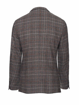 Ashton Peak Jacket - Slim - Black Coffee Plaid