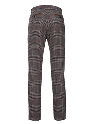 Downing Pant - Black Coffee Plaid