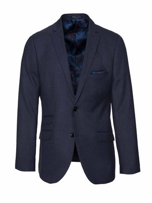 Dover Notch Jacket - Dusty Blue