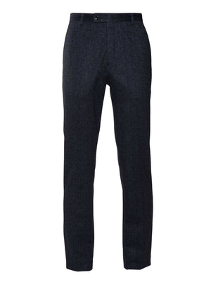 Camden Pants - Skinny - Navy & Black Knit