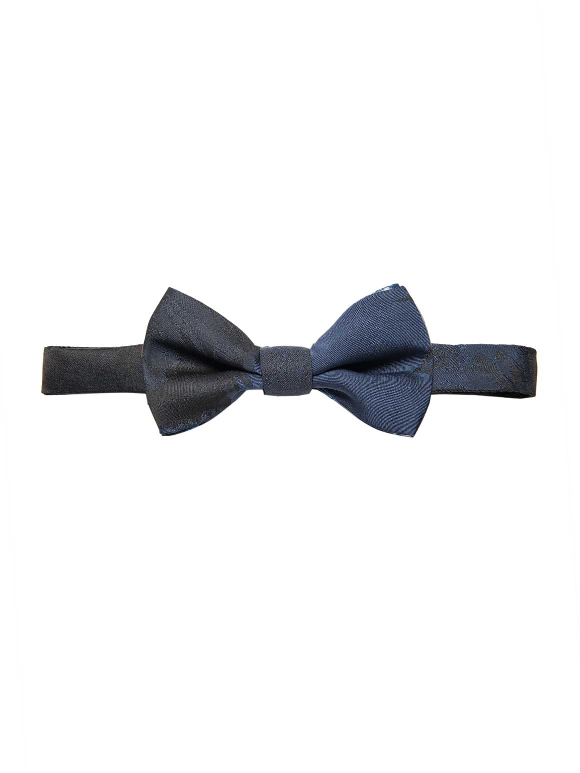 Bradley Bow Tie - Black & Blue Floral