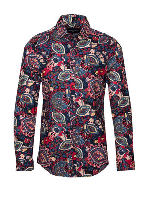 Long Sleeve Shirt - Berry Multi